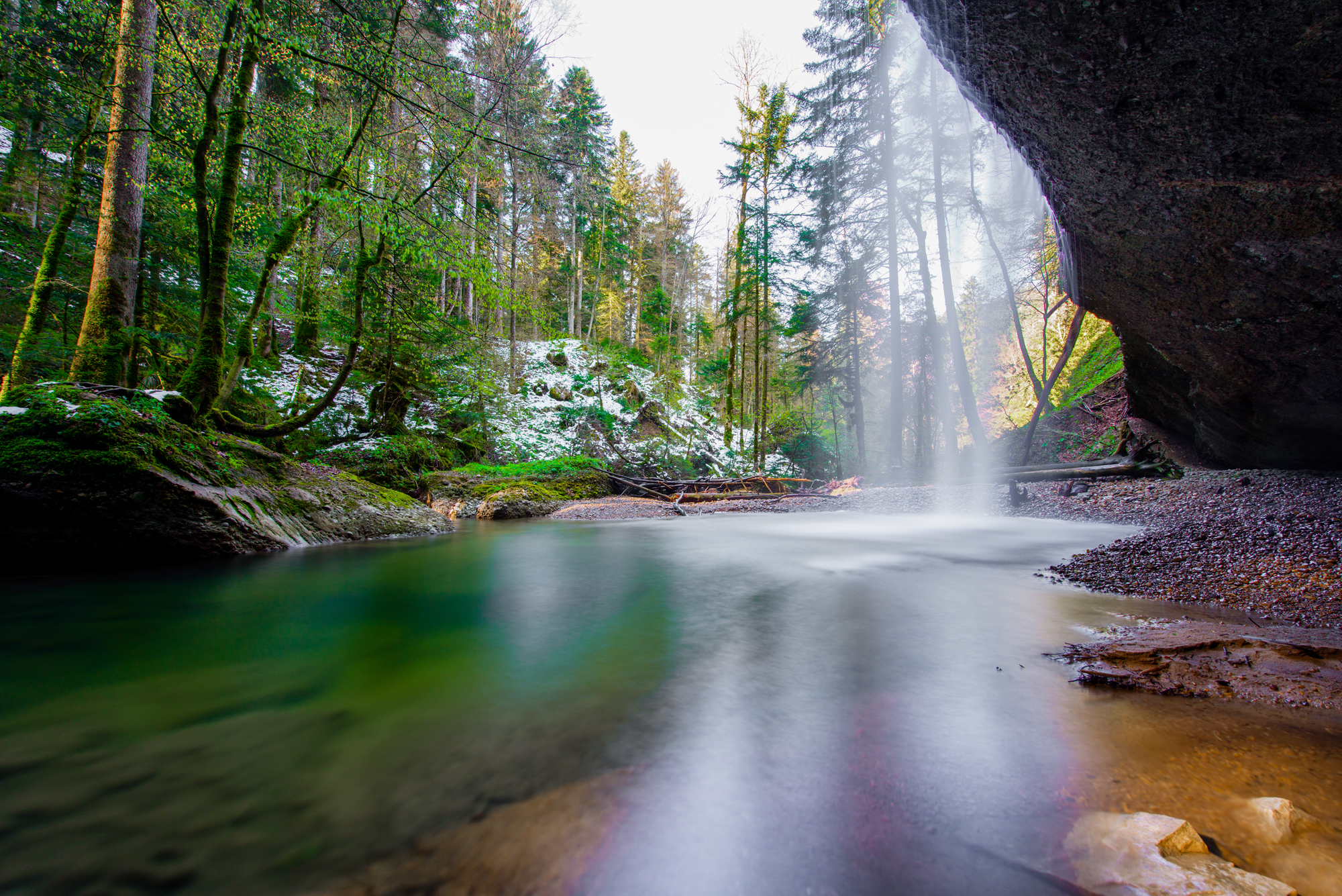 Location tip: Rickenbach Wasserfall